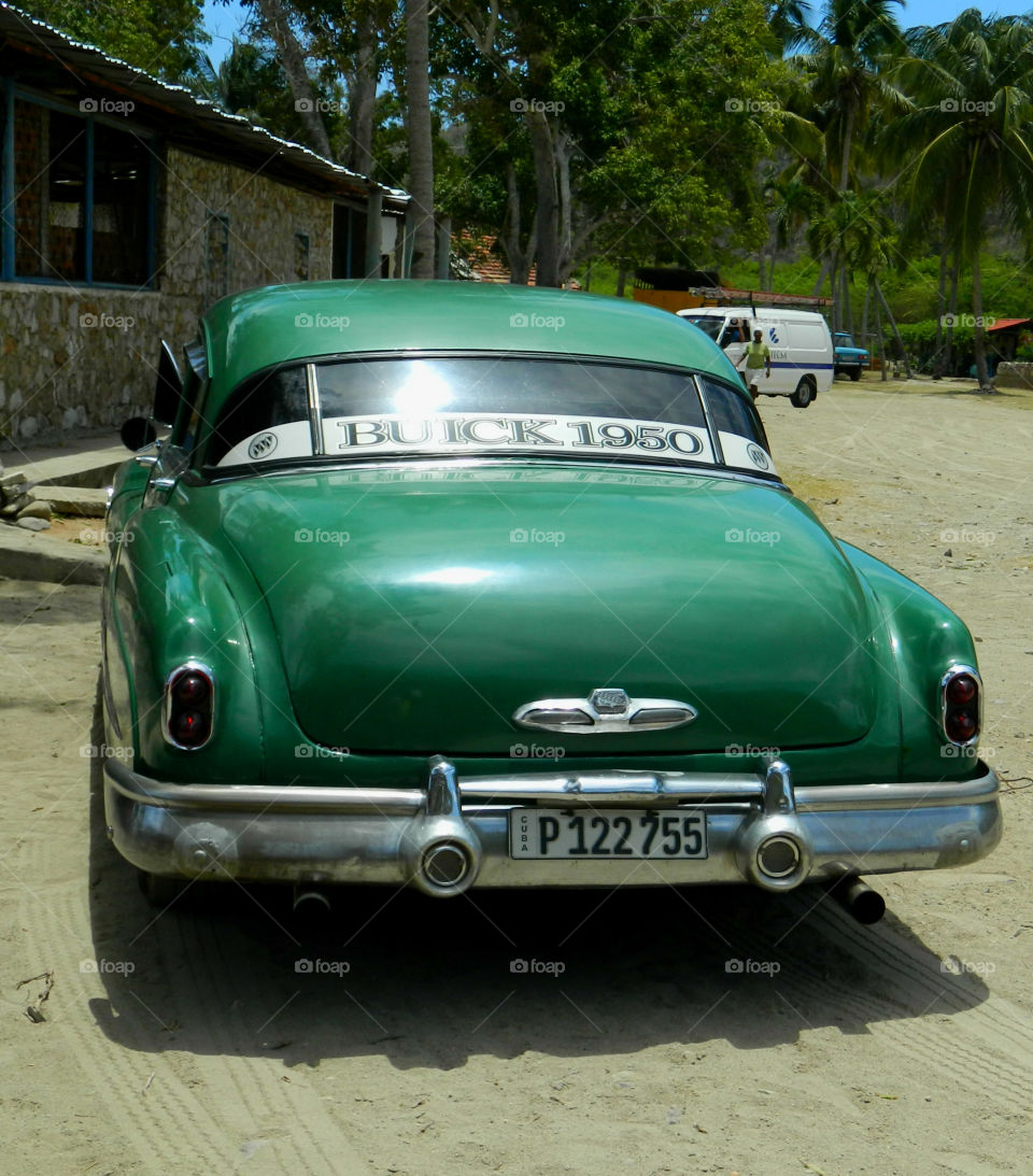 1950 Buick Special Car in Santiago de Cuba! This 1950 Buick Special is up and still running strong as it is used as a taxi!