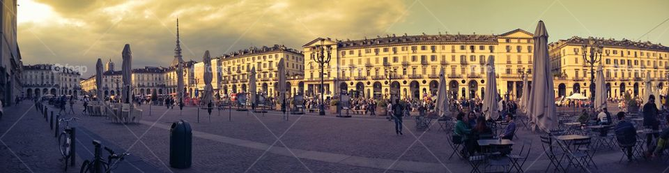Afternoon in Turin