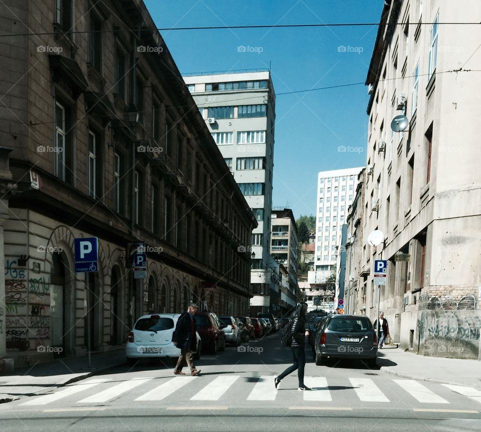Street, City, Road, Urban, Traffic