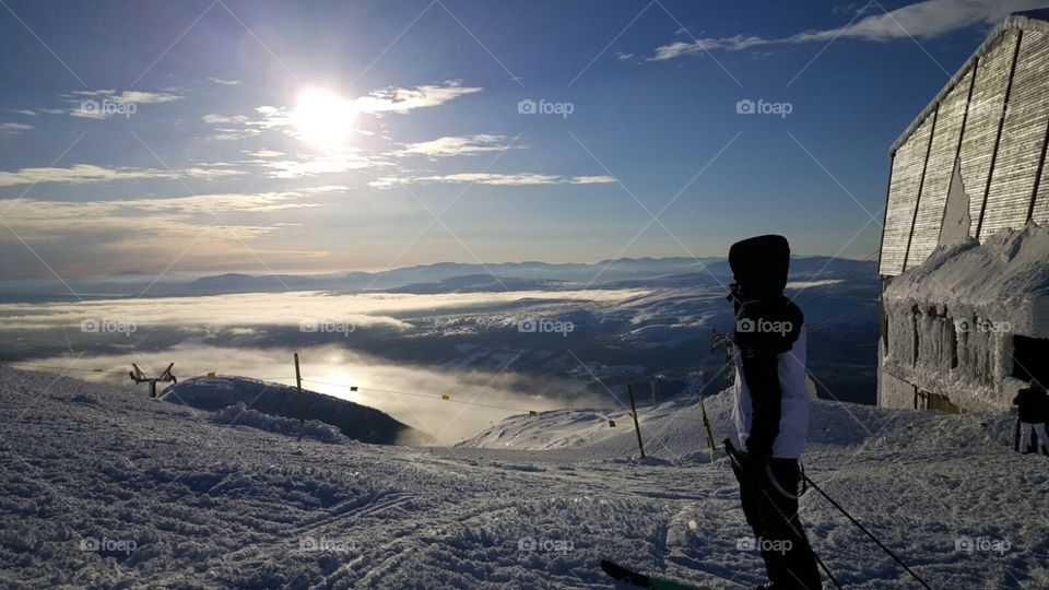 The winter landscape!