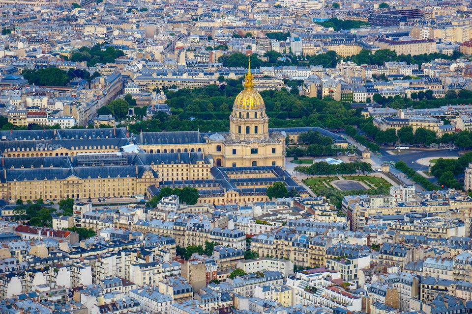 View of paris city