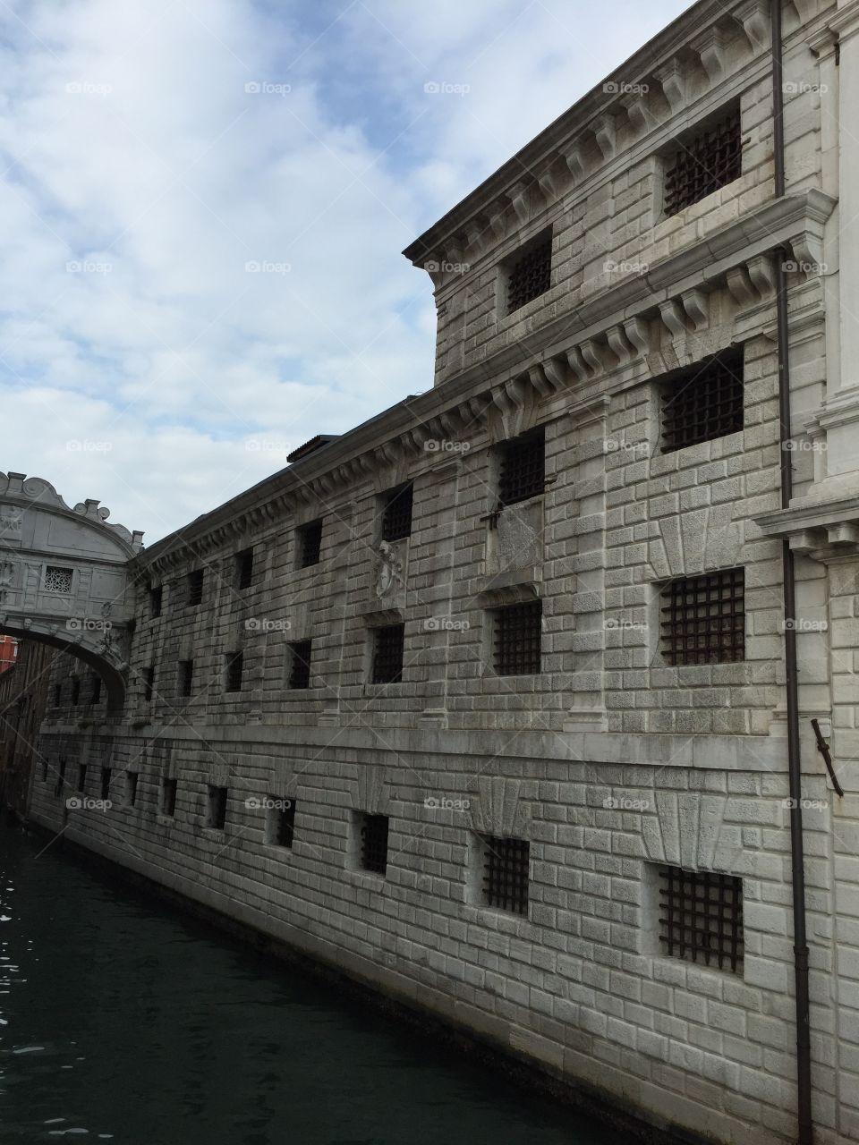 Old Jail House. Venice, Italy
