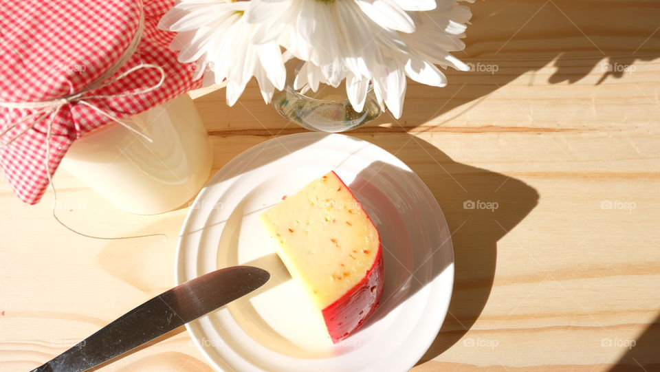 Dairy, milk and cheese