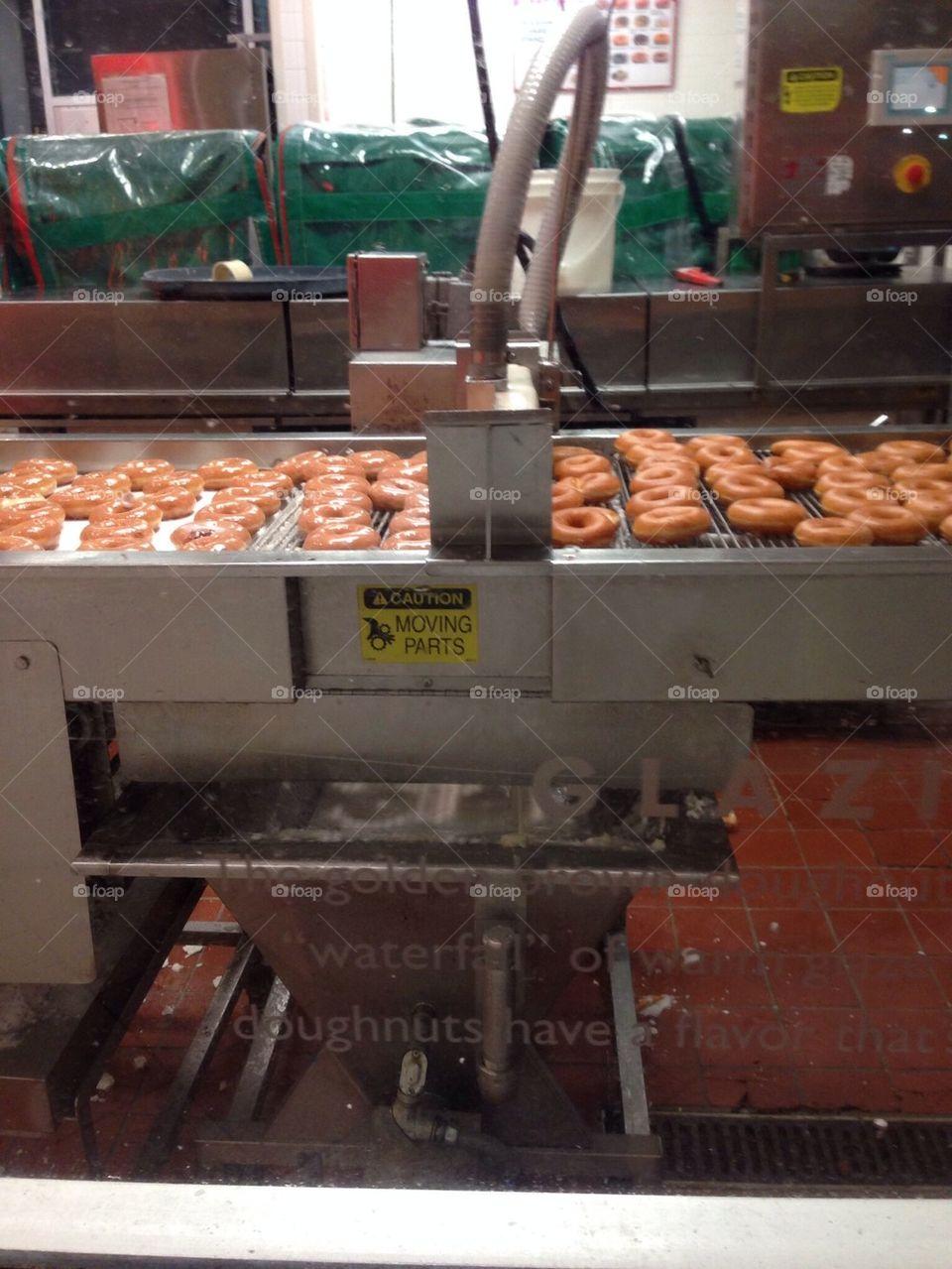 Donut creation