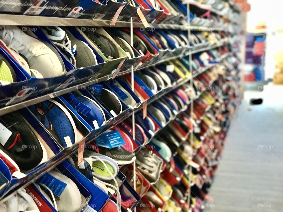 Shoe stack