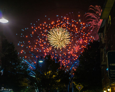 Fireworks. I captured a great firework shot during Addison's Kaboom Town independence day celebration event.