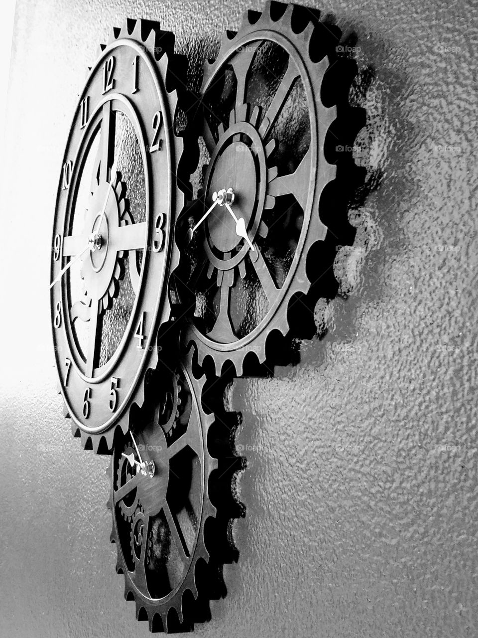Old watch on wall