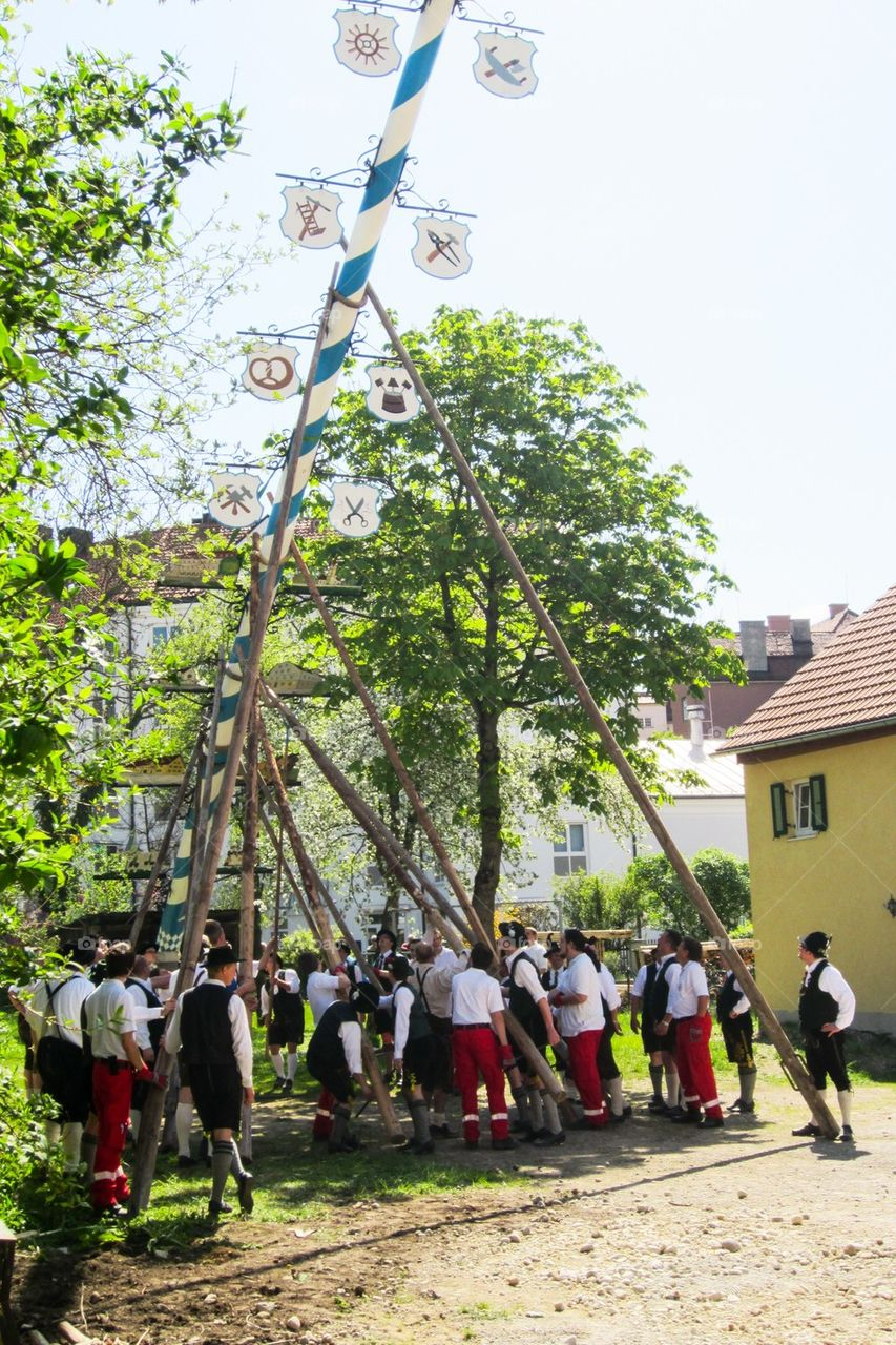 Mayday in Germany