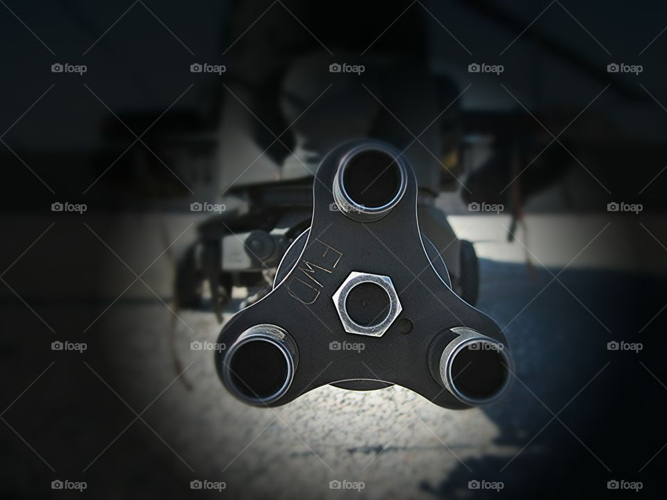 cannon weapon of attack helo