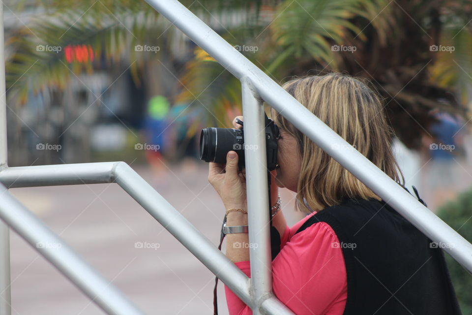 Photography in action