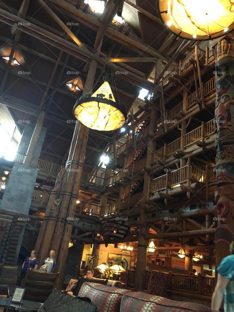 Wilderness Lodge, Walt Disney World.