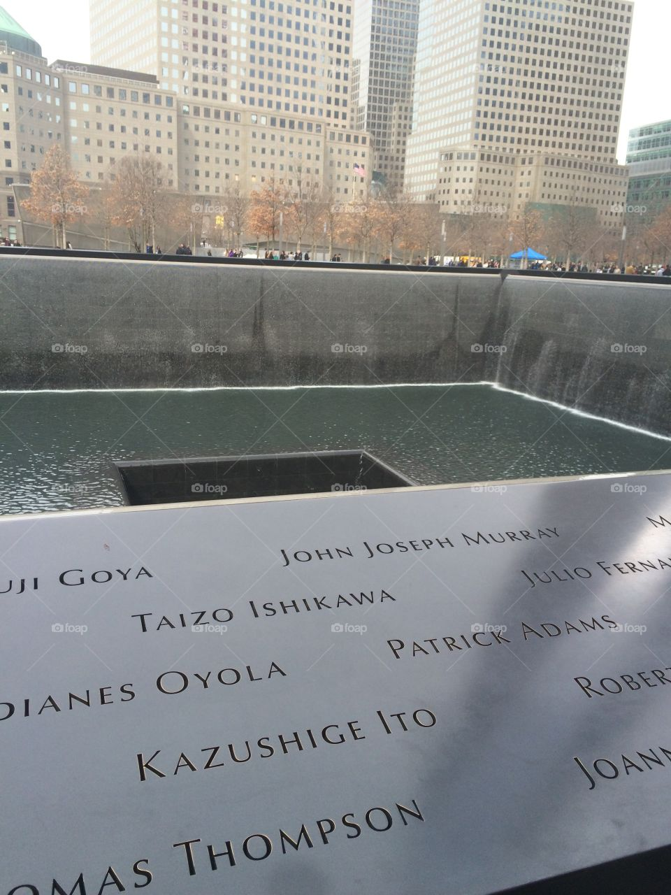 Remember Those Who Fell . 9/11 memorial in NYC