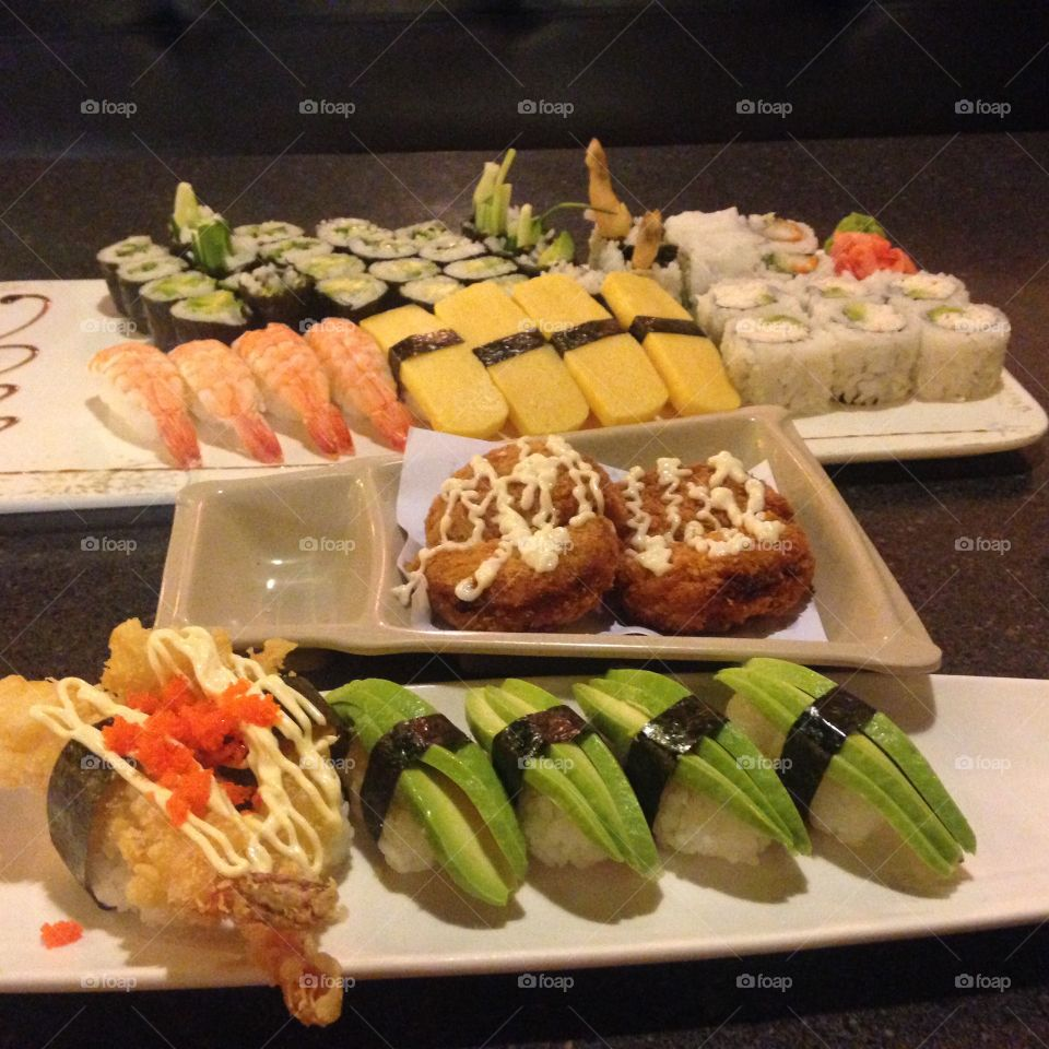 Japanese cuisine yum i adore sushi