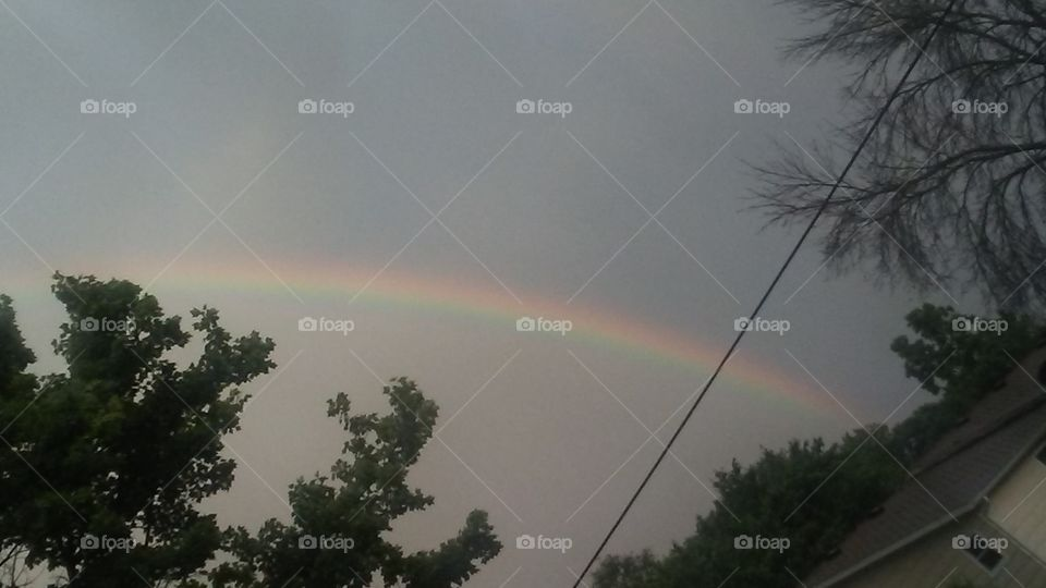 There's always a rainbow after the rain