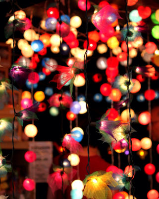 christmas lights colours celebration by cataana