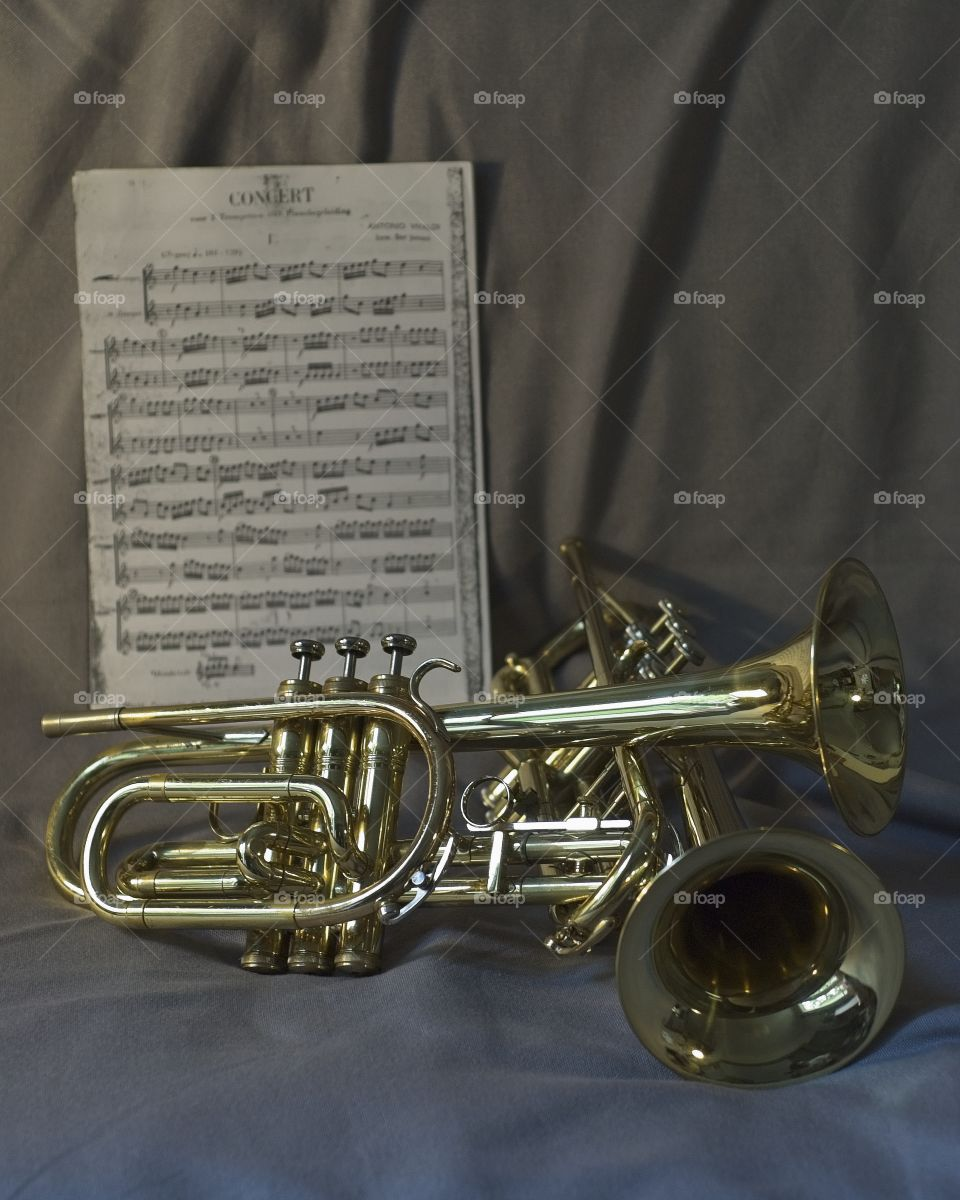 Classical music : concert for 2 trumpets