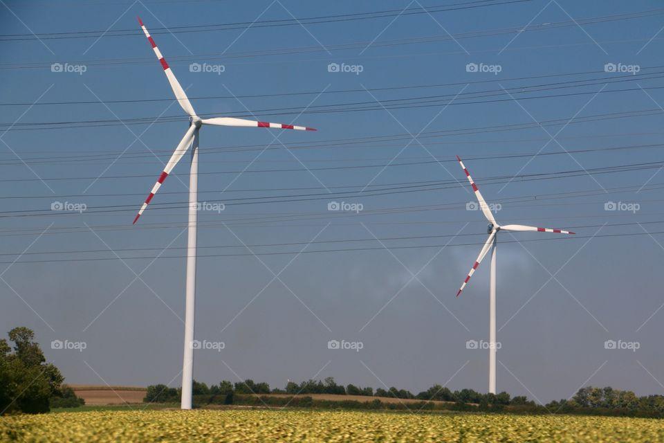 Windmill, Wind, Electricity, Energy, Turbine