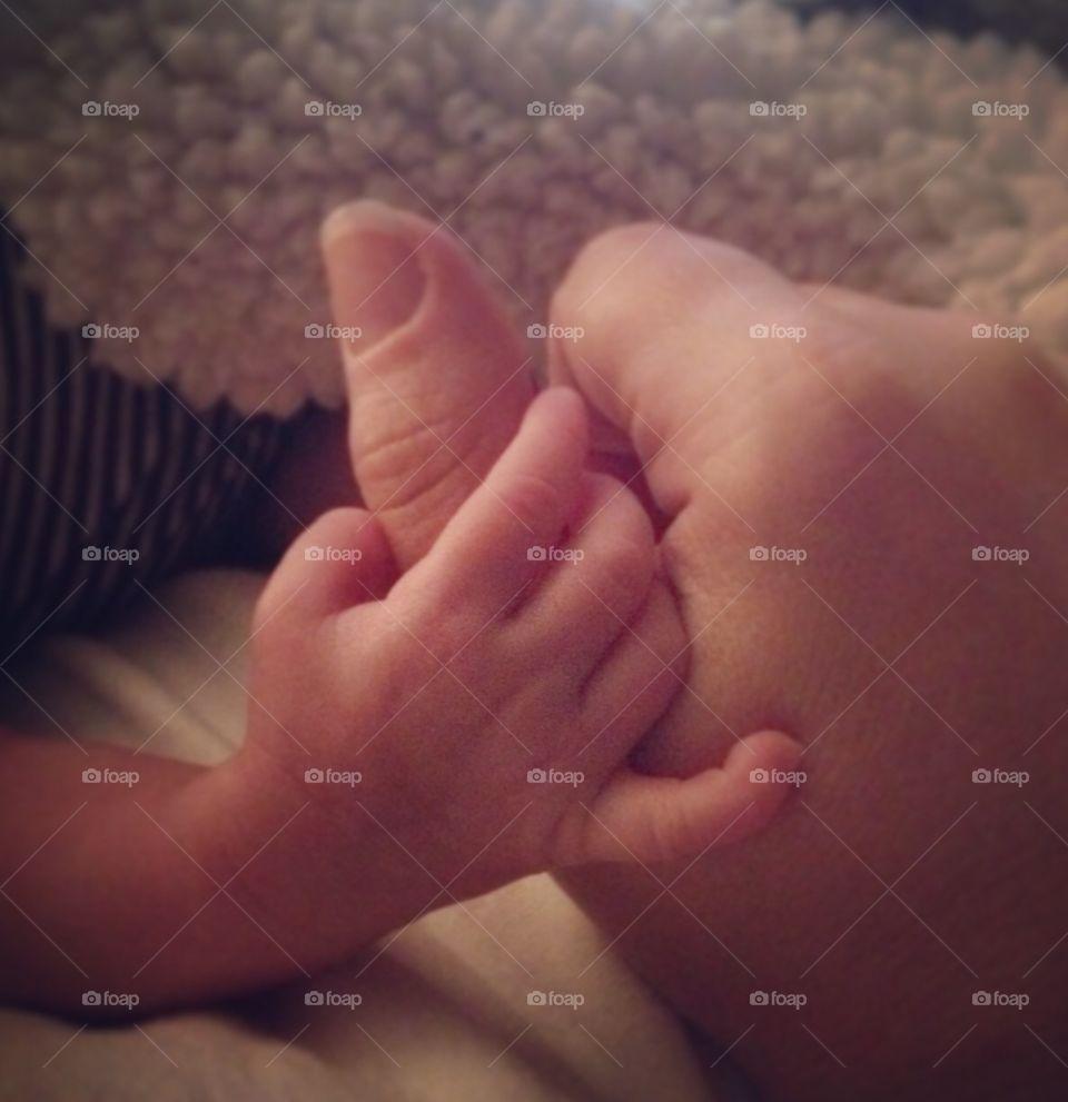 Little hand of love