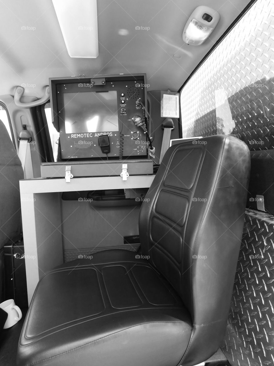 State of Florida Bomb Squad truck with sophisticated computer equipment to detect and assist Bomb Squad Technicians in the detection and removal explosives!