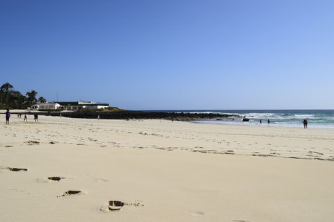 Serene beach in Fuerteventura