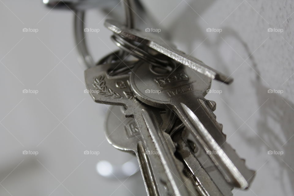 keys. just pick one to get out, you have to pick