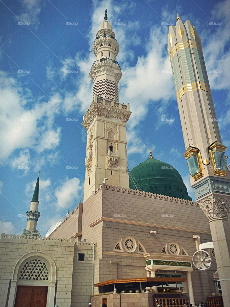المسجد النبوي. المدينة المنورة. السعودية  Al masjid al nabawi,  al madina , Saudi Arabia