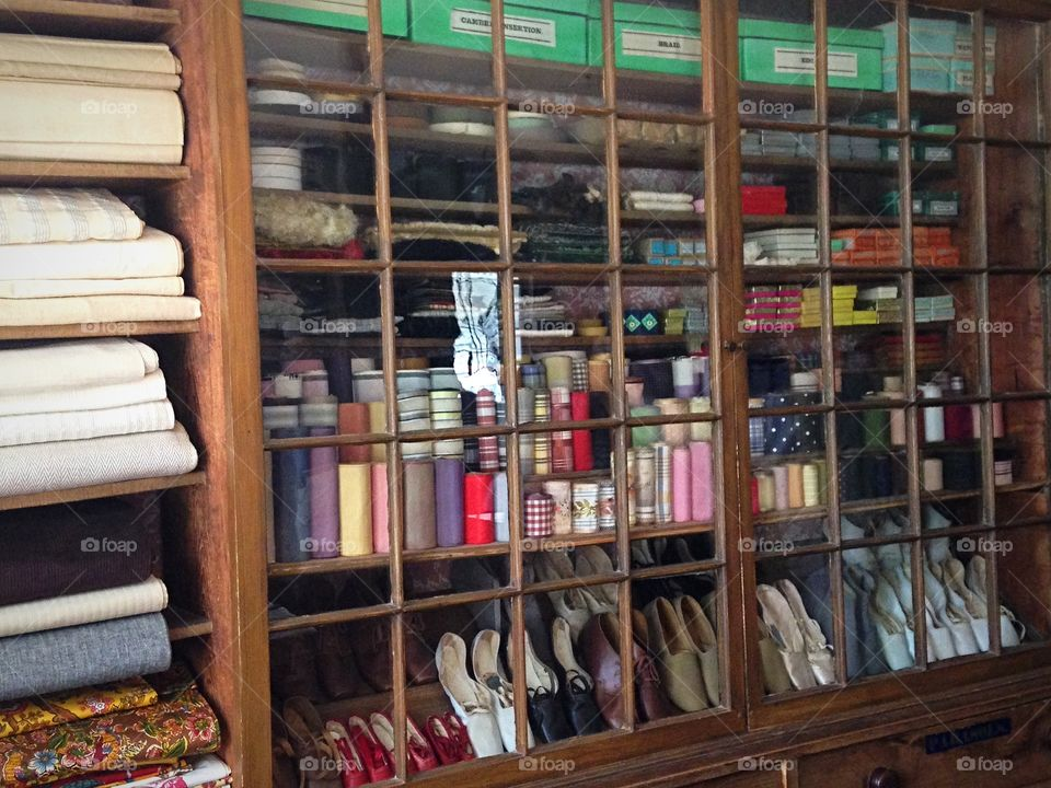 Merchandise at the general store, Old Sturbridge Village
