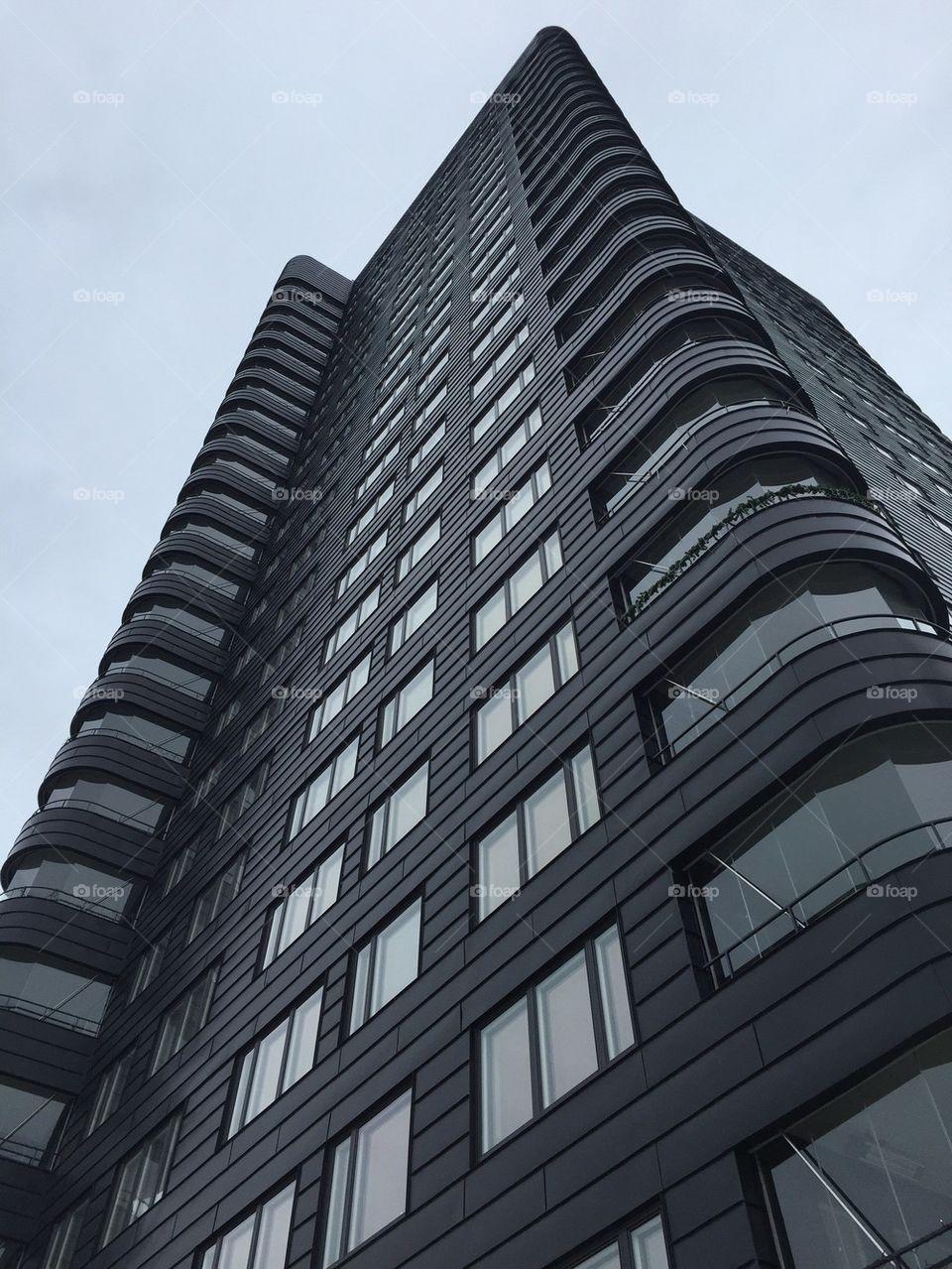 Black towers