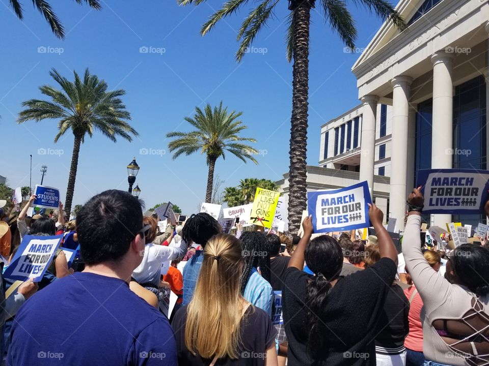 March for Our Lives Jacksonville