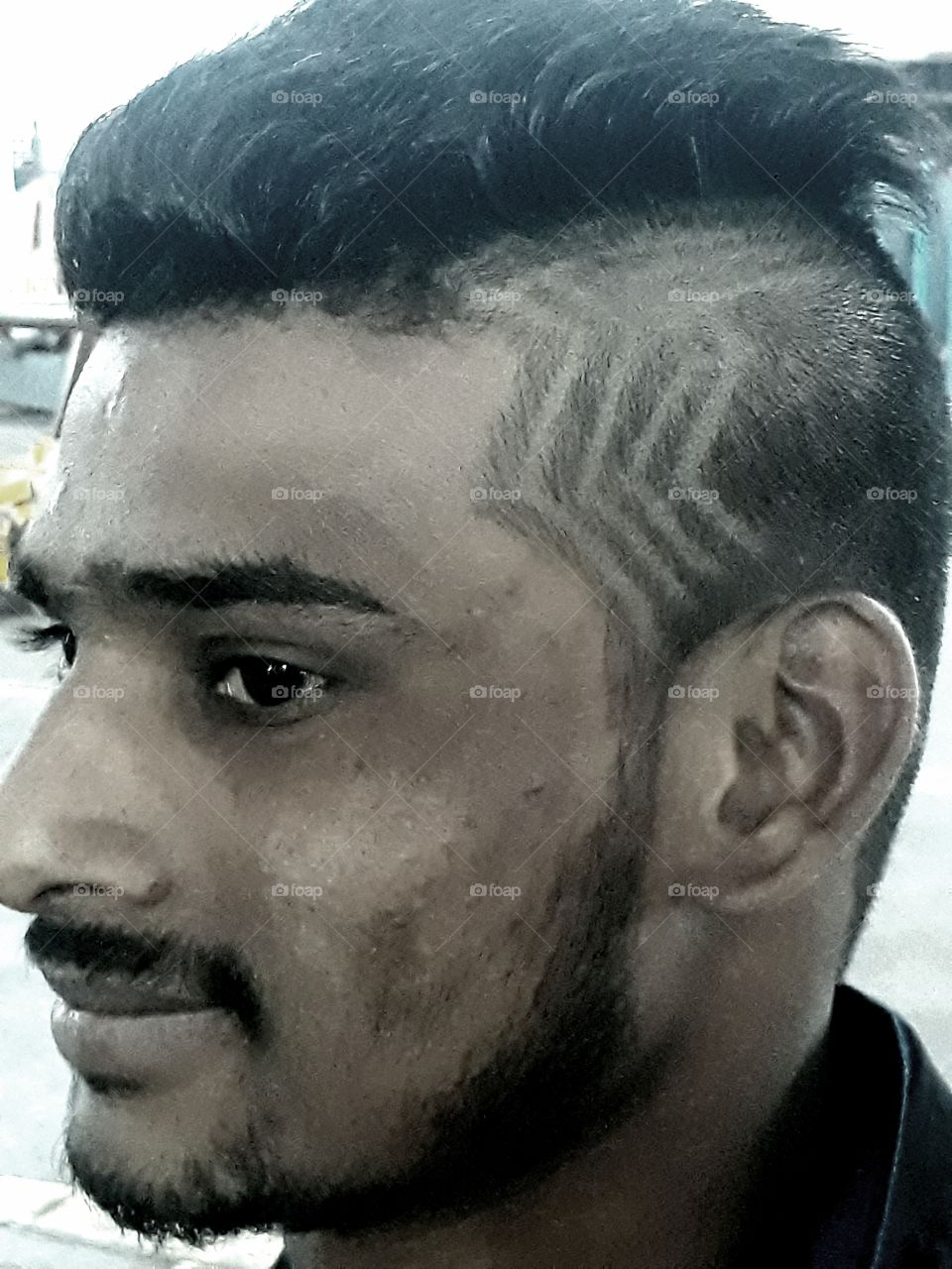 hair styles... clippers art