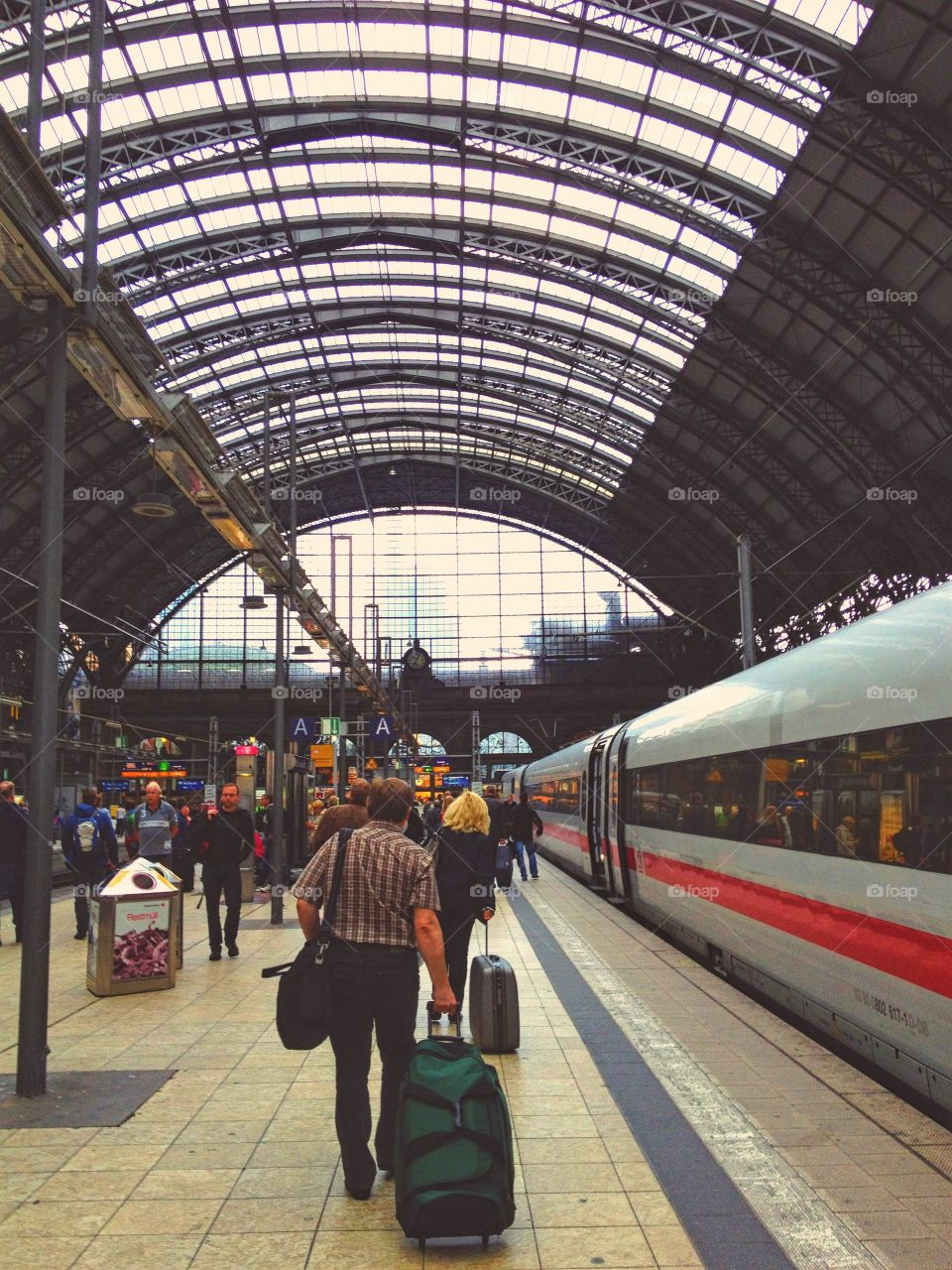 Some train station in Germany