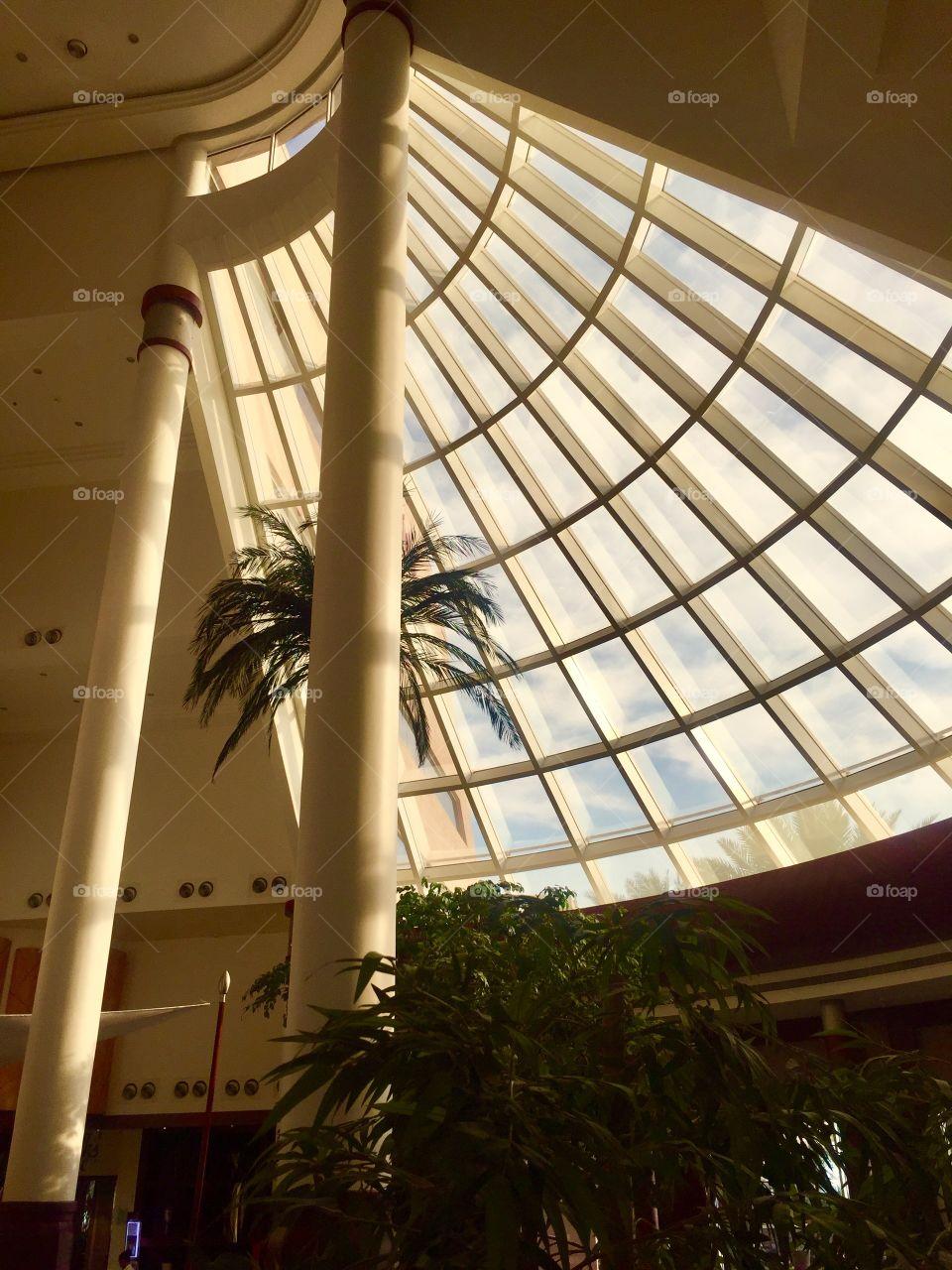 Let's Call It a Skylight.  Movenpick Hotel. Kingdom of Bahrain
