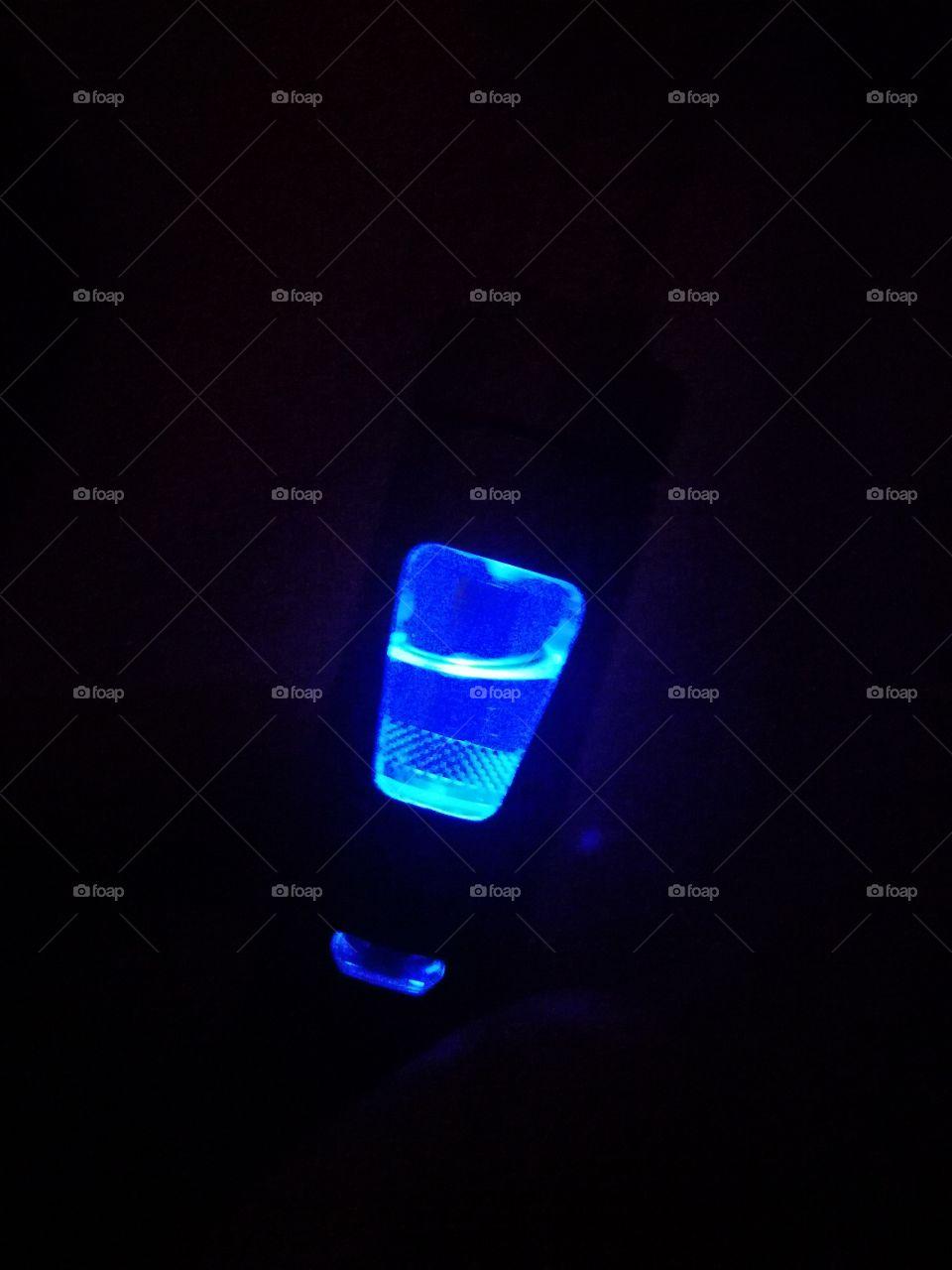 #neon#electroniccigarette#blue