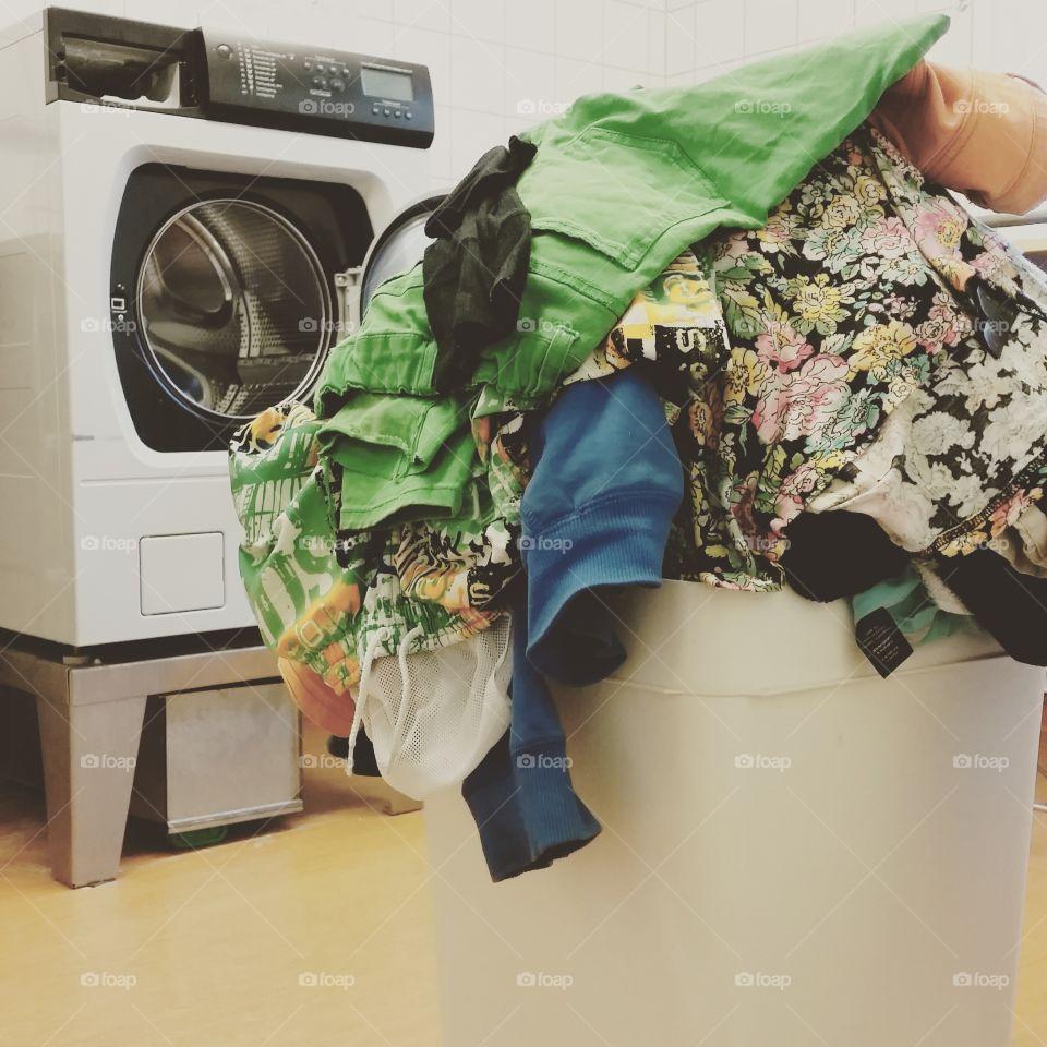 Laundry day!