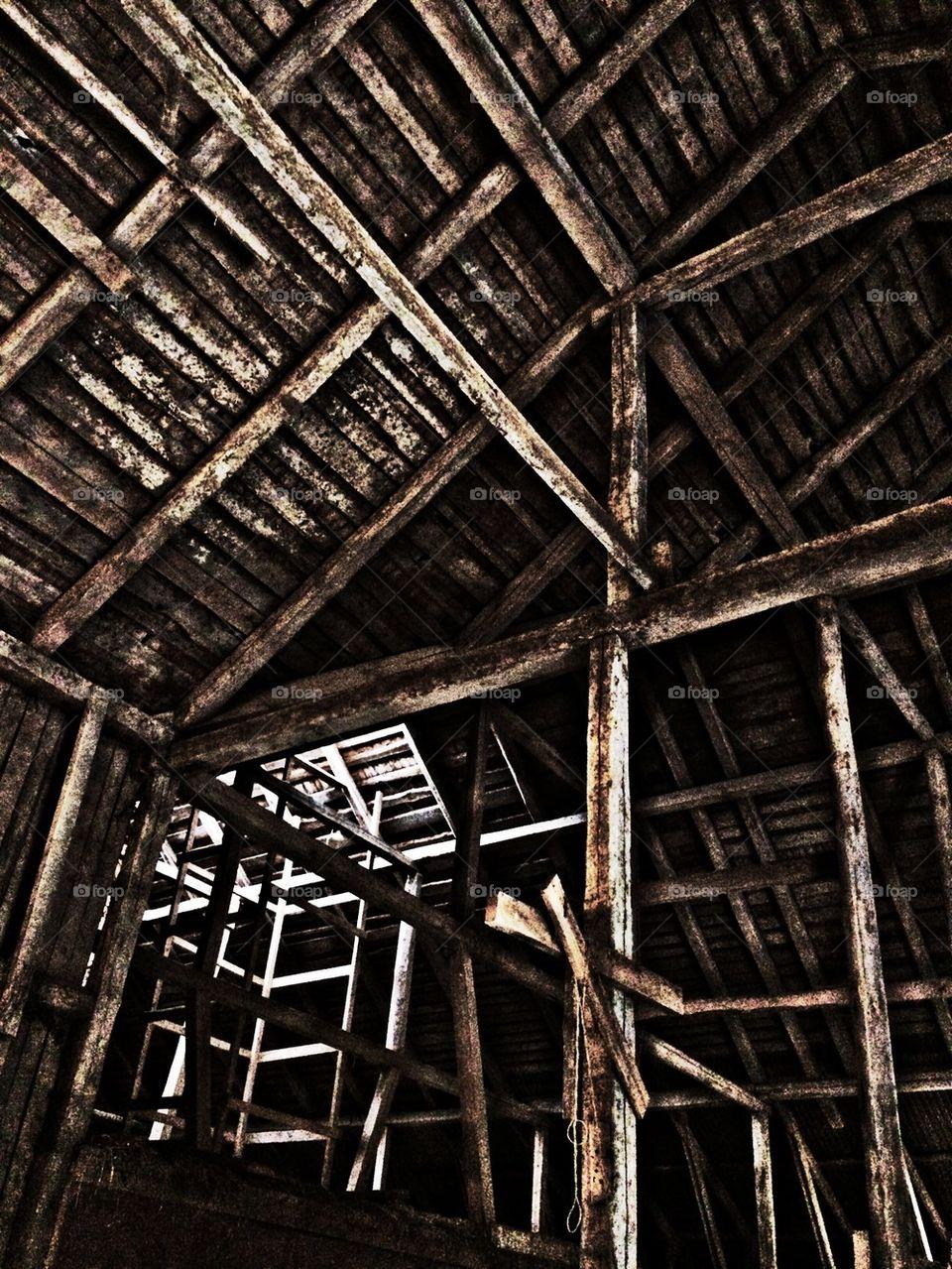 To the attic