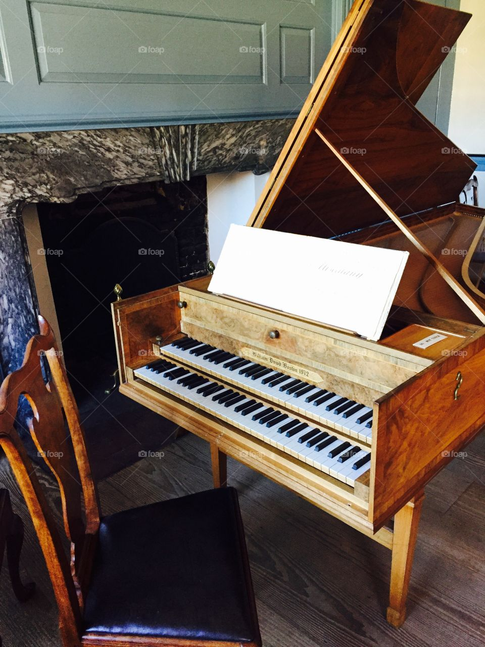 Independence Hall Harpsichord