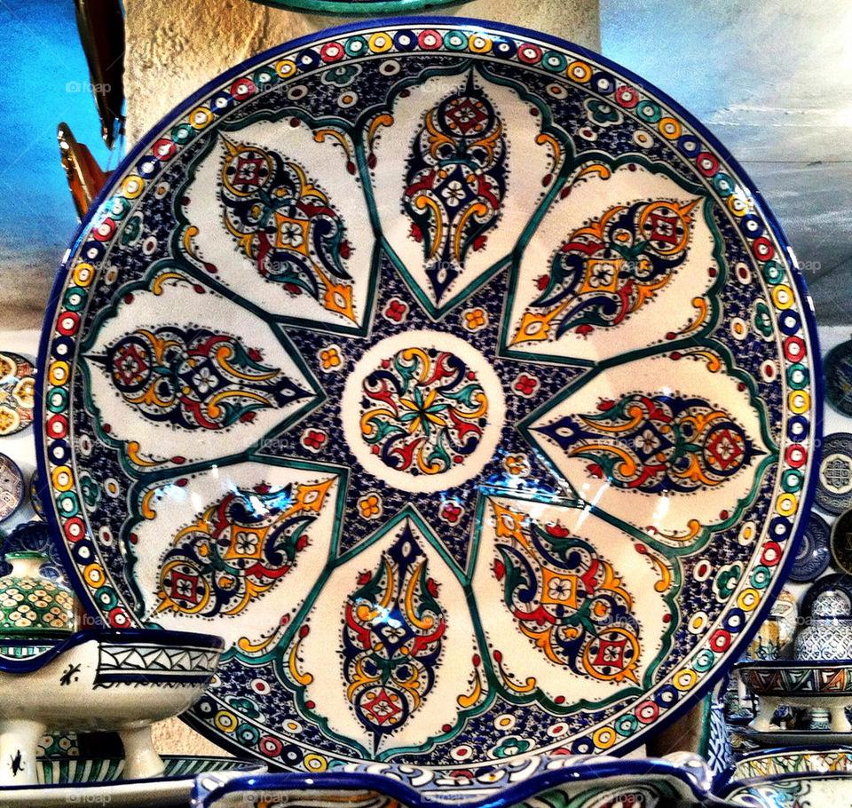 color art algeria dish by oaslani