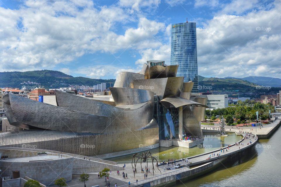 Museo Guggenheim (Bilbao - Spain)