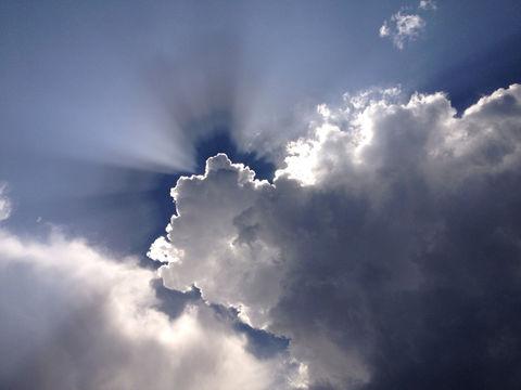 sky clouds sun storm by jemmawatts
