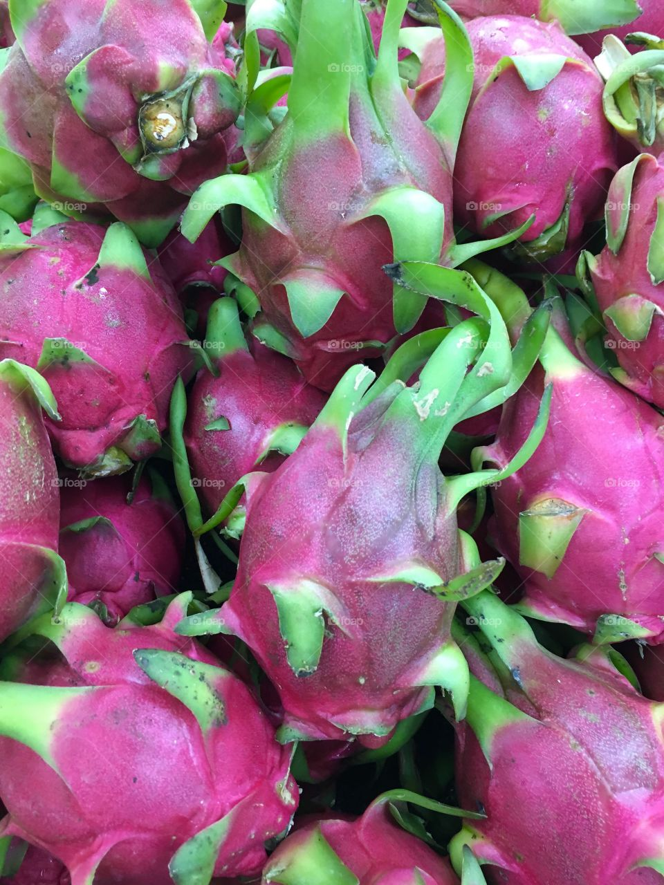 Red Chinese Dragon Fruit