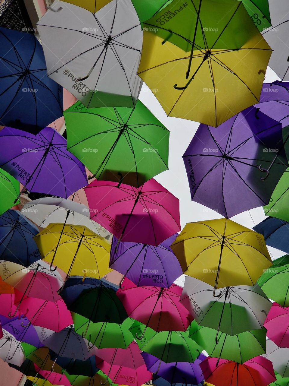 Puerto Rico Strong..☂🌈 Will have umbrellas up again❤