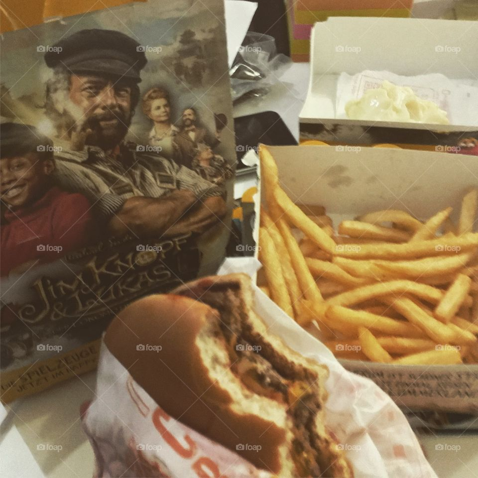 Junkfood and french fries