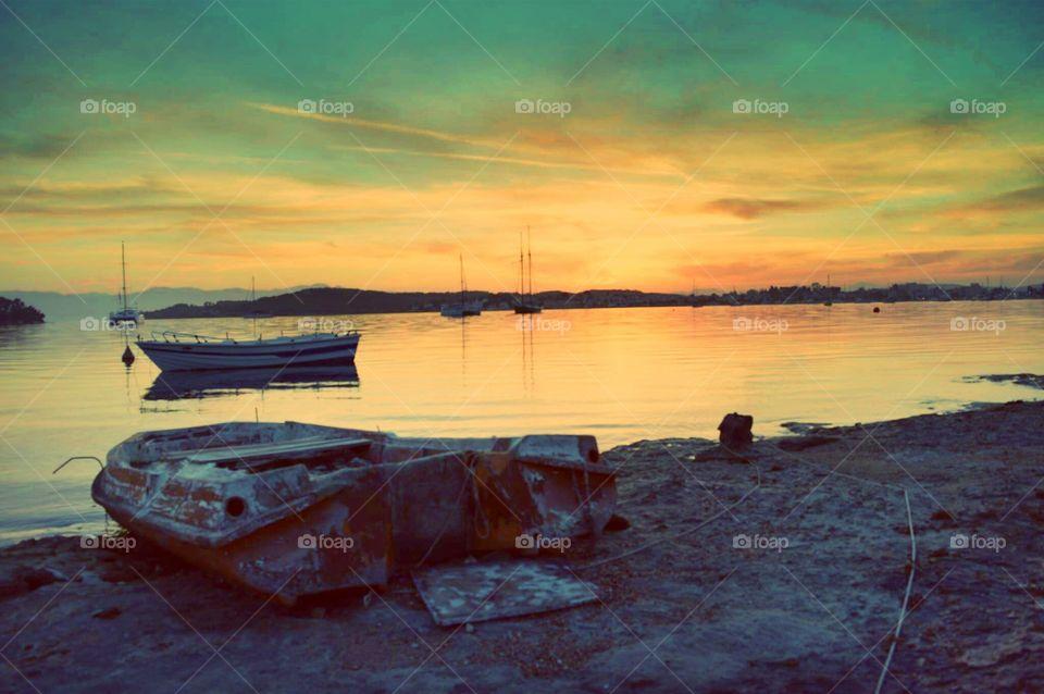 Greece photography Sun sunny summer sunset paradise