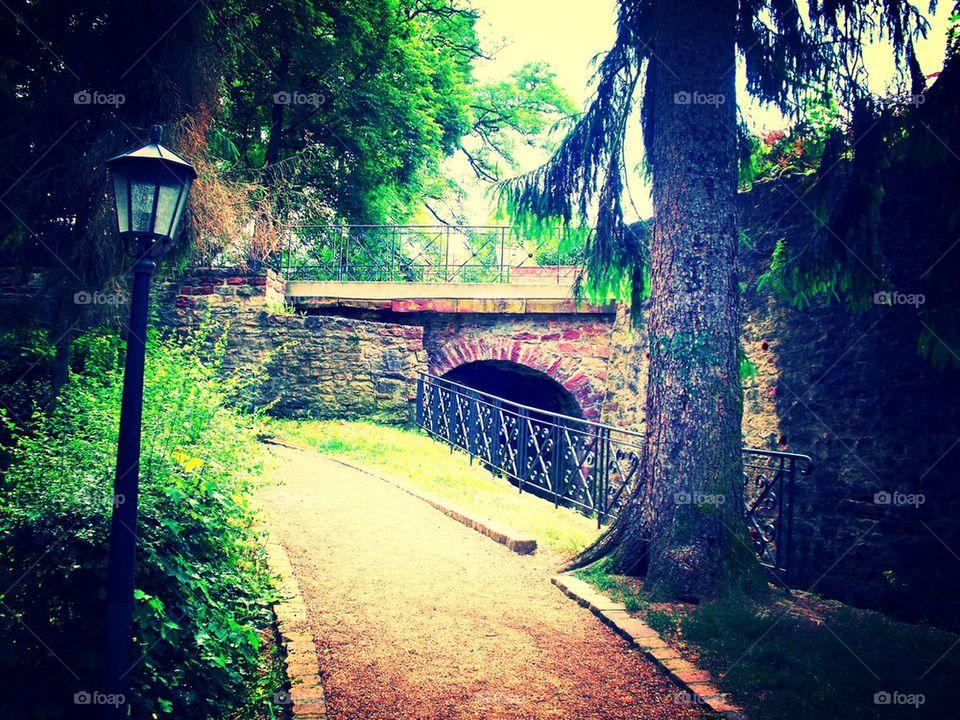 Hidden path