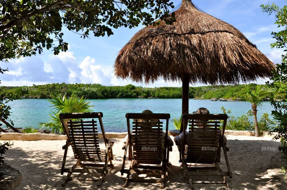 Relax in xel ha