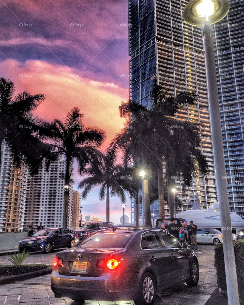 Unbelievable Miami sunsets are like this
