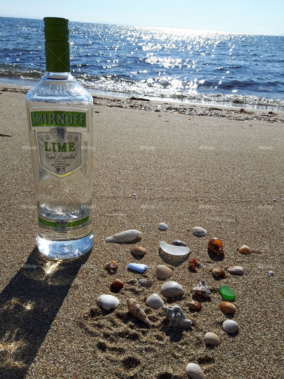 drink in the sea
