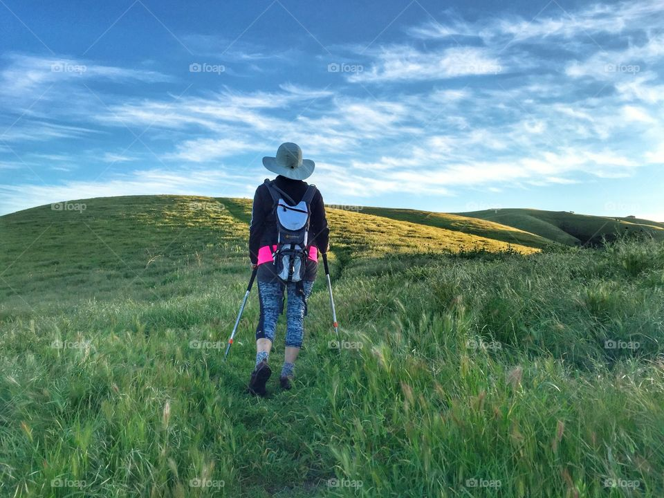 New Years resolution is to exercise and hike several times a week to achieve it.
