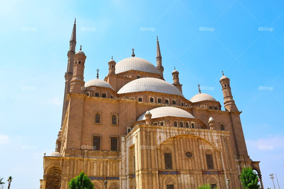 Great mosque of muhammed ali cairo egypt