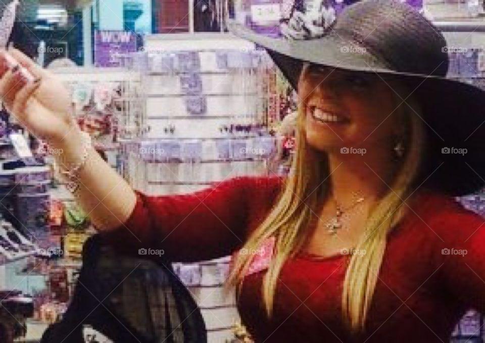 Hat shopping